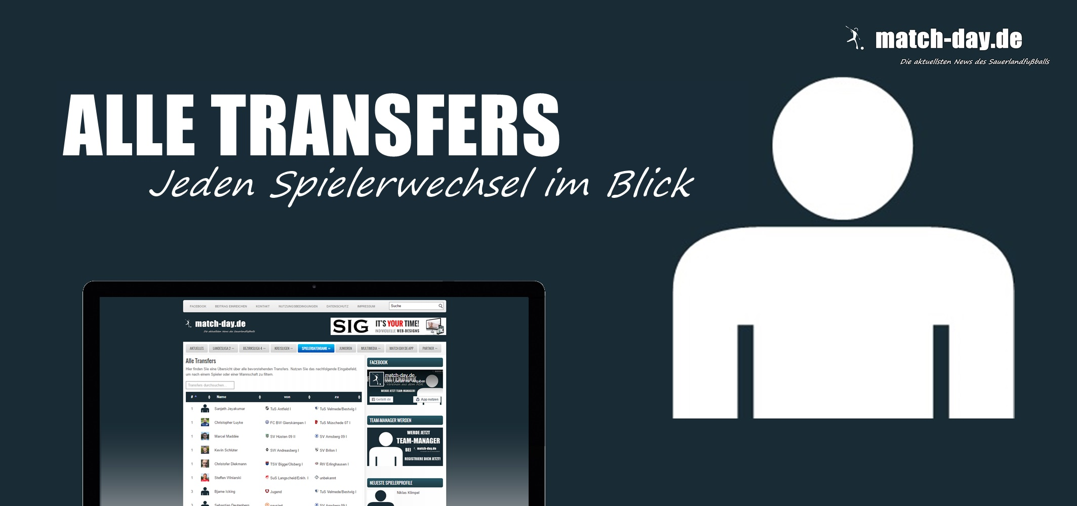 alle transfers